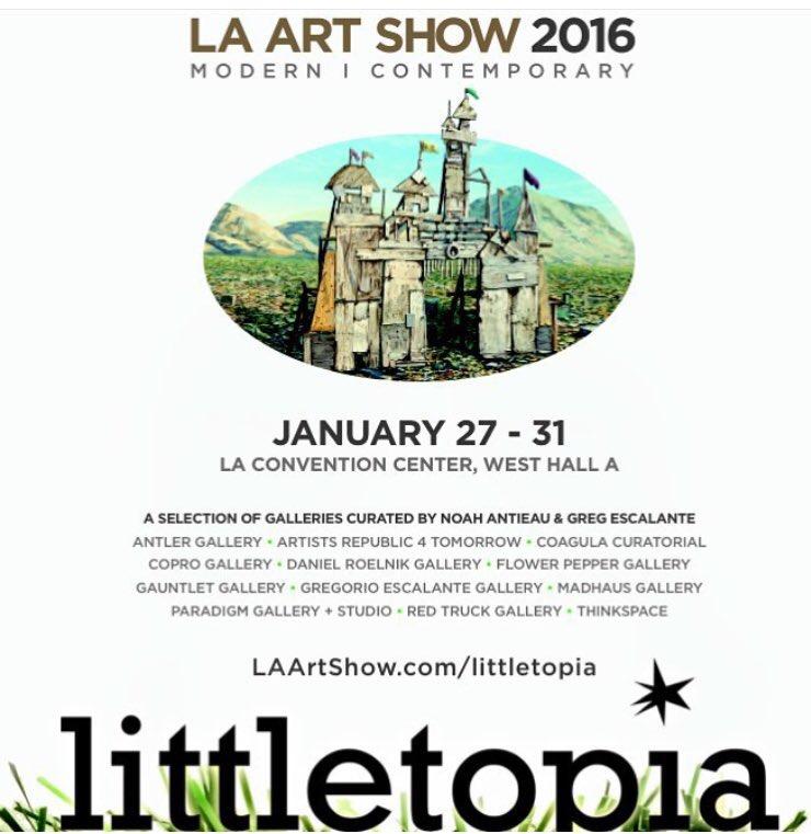 LA ART SHOW 2016 w/THINKSPACE GALLERY
